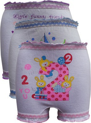Gumber Printed Girls Bloomer