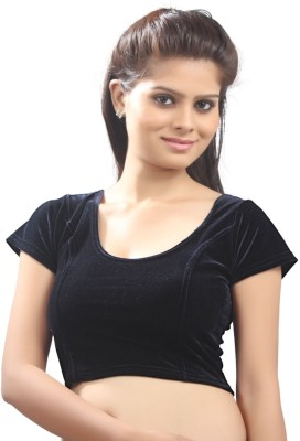 Vamas Round Neck Women's Stitched Blouse  available at flipkart for Rs.480