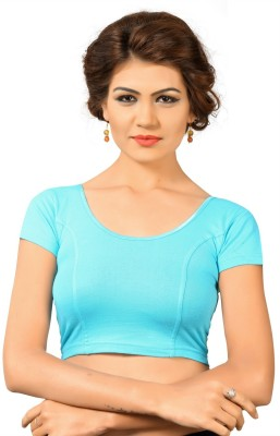 Vamas Round Neck Women's Stitched Blouse  available at flipkart for Rs.450