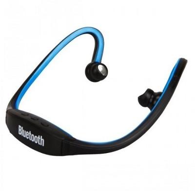 Mezire  Bluetooth Headset MEZIRE BLUETOOTH HEADSET(Blue)