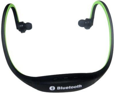 Mezire  Bluetooth Headset MEZIRE BLUETOOTH HEADSET(Green)