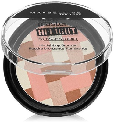 Maybelline Face Studio Master Hi Light Bronzer Light Bronze, 9 Gm