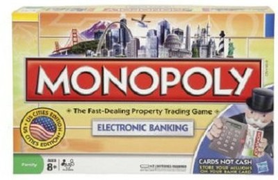 Hasbro Monopoly Electronic Banking Edition Board Game