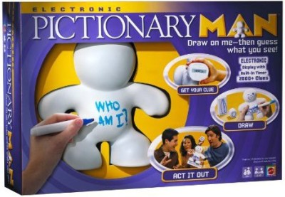 Mattel Electronic Pictionary Man Board Game
