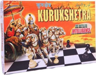 Kids Mandi Techno Kurukshetra Chess Set Board Game  available at flipkart for Rs.145