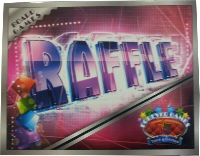 Forever Games Raffle Board Game