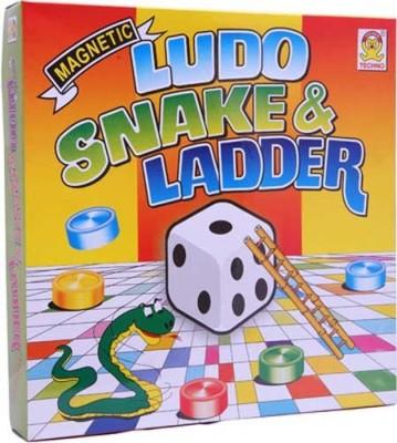 Kids Mandi Techno Magnetic Ludo, Snakes & Ladder Board Game  available at flipkart for Rs.210