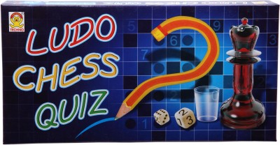 Techno Ludo Chess & Quiz Board Game  available at flipkart for Rs.109