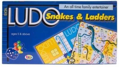 Ekta Ludo & Snakes N ladder Board Game  available at flipkart for Rs.197
