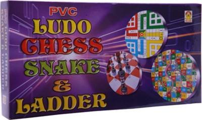 Kids Mandi Techno Ludo, Chess & Snake Board Game  available at flipkart for Rs.105