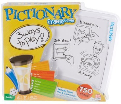Mattel Pictionary Man Junior Jr Board Game