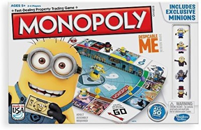 Hasbro Monopoly Game Despicable Me Edition Board Game