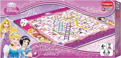 Funskool Disney Princess Snakes & Ladders Board Game