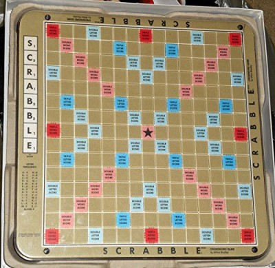 Selchow & Righter Scrabble Deluxe 1977 Edition Plastic Rotating Turntable Board Game  available at flipkart for Rs.27846