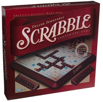Hasbro Scrabble Deluxe Turntable Game Board Game  available at flipkart for Rs.22128