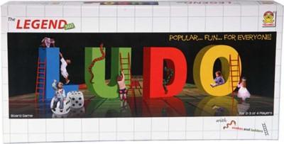Kids Mandi Techno The Legend Ludo, Snakes & Ladder-360 Board Game  available at flipkart for Rs.280