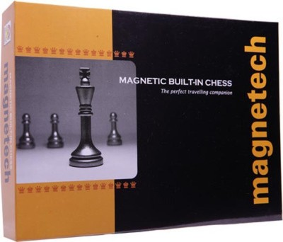 Kids Mandi Techno Magnetic Built In Chess (Magtech) Board Game  available at flipkart for Rs.220