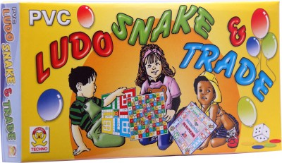 Techno Ludo Snake & Trade (Small) Board Game  available at flipkart for Rs.107