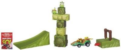 Angry Birds Go! Jenga Tower Knockdown Game Board Game