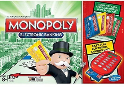 Hasbro Monopoly Game: Ultimate Banking Edition Board Game
