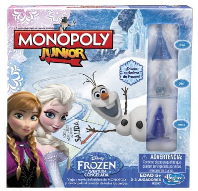 Hasbro Monopoly Junior Game Frozen Edition Board Game