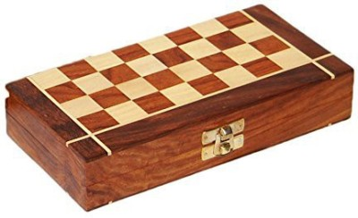 Aarsun Woods CB001 2 inch Chess Board(Brown)