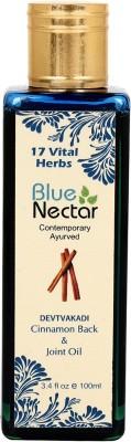 Blue Nectar Devtvakadi Cinnamon Ayurvedic Herbal Body Pain Back & Joint Oil Oil(100 ml)