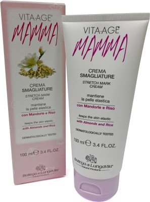 Bottega di Lungavita Vita Age Mamma Stretch Mark Cream(100 ml)  available at flipkart for Rs.999