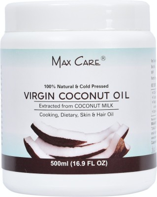 Maxcare Maxcare Virgin Coconut Oil (Cold Pressed) 500ML Wide Mouth(500 ml)  available at flipkart for Rs.345