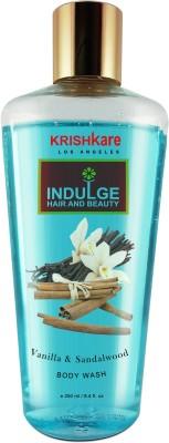 Krishkare Body Wash - Vanilla & Sandalwood(250 ml)