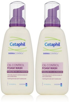 Cetaphil Dermacontrol Foam Wash, 8 Fluid Ounce (Pack of 2)(224 g)