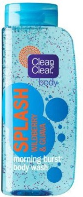 Clean & Clear Morning Burst Splash Wildberry and Guava Pack of 2(480 ml)