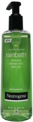 Neutrogena Rainbath Renewing Shower And Bath Gel Pear And Green Tea(250)  available at flipkart for Rs.2491