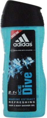 ADIDAS Ice Dive Hair & Body Wash(248.388 ml)  available at flipkart for Rs.1609