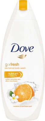 Dove Body Wash Go Fresh Orange Revitalize Nutrim Moisture Body Wash , 500 ml