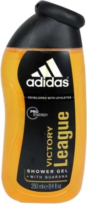 Adidas Victory League Shower Gel(250 ml)  available at flipkart for Rs.168