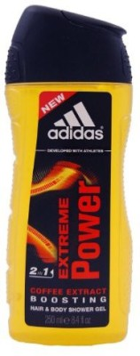 ADIDAS Extreme Power By Hair And Body Shower Gel(248.388 ml)  available at flipkart for Rs.2497
