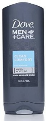 Dove Men + Care Body & Face Wash, Clean Comfort 400 ml