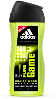 ADIDAS Pure Game Shower Gel(250 ml)  available at flipkart for Rs.199