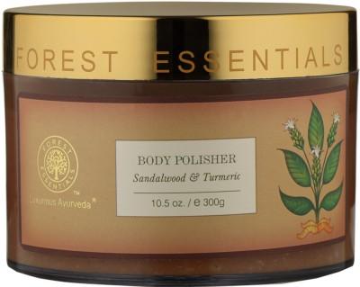Forest Essentials Body Polisher Sandalwood & Turmeric(300 g)