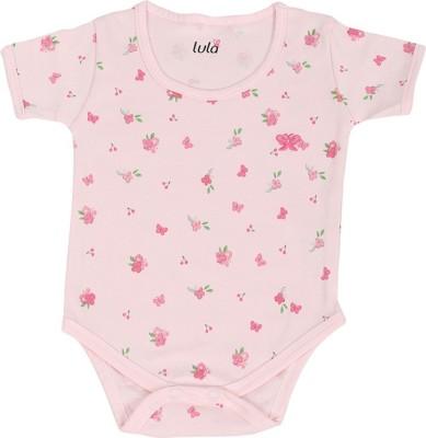 Lula Pinky Butterfuly Baby Girls Pink Bodysuit