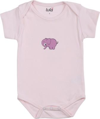 Lula Baby Girls Pink Bodysuit