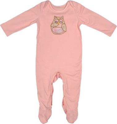 Rute Baby Girls Pink Sleepsuit