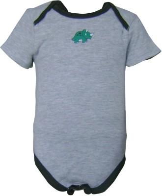 Teddy's choice Boys Grey Bodysuit