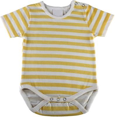 Kotty Baby Girls Grey, Yellow Sleepsuit