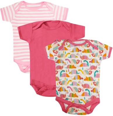 NammaBaby Baby Girls Pink Bodysuit