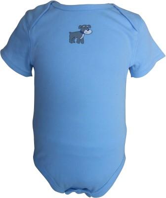 Teddy's choice Boys Light Blue Bodysuit
