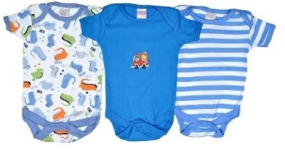 NammaBaby Baby Girls Blue Bodysuit