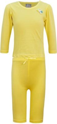 Kothari Baby Girls Yellow Bodysuit