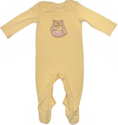 Rute Baby Girls Yellow Sleepsuit